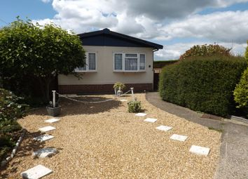 Thumbnail 2 bedroom bungalow for sale in Brickhill Farm Park Homes, Half Moon Lane, Pepperstock, Luton