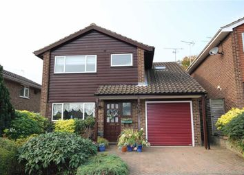 Thumbnail 4 bedroom detached house for sale in Newton Close, Harpenden, Hertfordshire