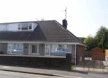 Thumbnail 3 bedroom semi-detached bungalow for sale in Libanus Road, Gorseinon, Swansea