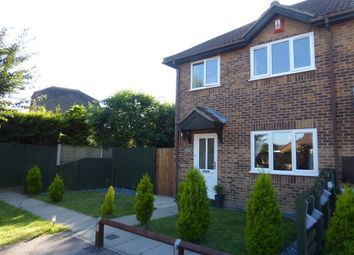 Thumbnail 3 bed end terrace house for sale in Riverdene Mews, Taverham, Norwich