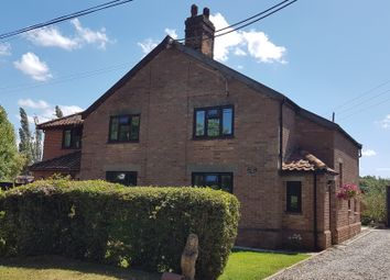 Thumbnail 2 bed cottage to rent in Mill Green, Burston, Diss, Norfolk