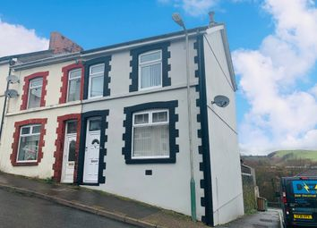 Thumbnail 3 bedroom end terrace house for sale in Upper Francis Street, Abertridwr, Caerphilly