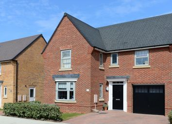 "Thumbnail 4 bed detached house for sale in ""Drummond"" at Beggars Lane, Leicester Forest East, Leicester"