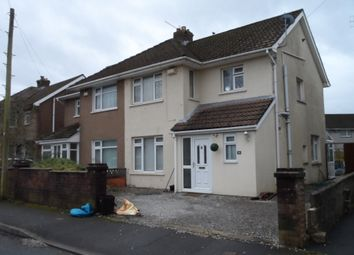 Thumbnail 3 bed semi-detached house to rent in Eustace Drive, Bryncethin