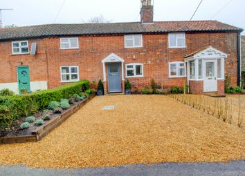 Thumbnail 2 bed terraced house for sale in School Lane, Benhall, Saxmundham