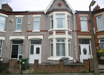 Thumbnail 3 bed terraced house to rent in Florence Road, Wallasey, Wirral