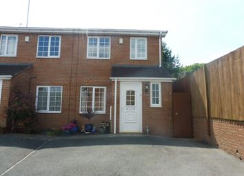 Thumbnail 2 bed semi-detached house for sale in Edwinstowe Close, Brierley Hill