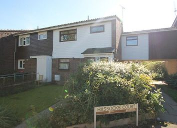 Thumbnail 4 bed end terrace house for sale in Hassocks Court, Cuckfield Close, Crawley, West Sussex.