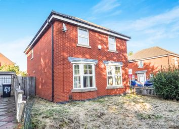 Thumbnail 4 bedroom detached house for sale in Larchmont Road, Leicester