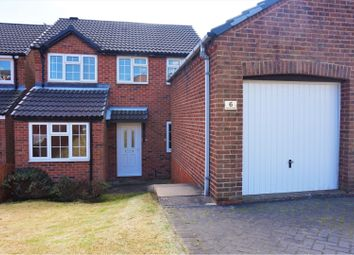 Thumbnail 3 bed detached house for sale in Harrow Road, Swadlincote