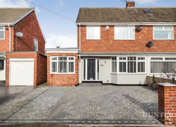 Thumbnail 3 bed semi-detached house for sale in Windsor Drive, Cleadon, Sunderland