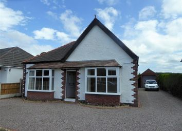Thumbnail 3 bed detached bungalow for sale in Wrexham Road, Pentre Bychan, Wrexham