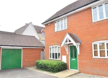 Thumbnail 2 bedroom semi-detached house for sale in Emperor Circle, Ipswich