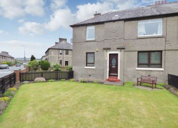 Thumbnail 2 bed flat for sale in Cardross Road, Broxburn