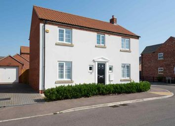 Thumbnail 4 bed detached house for sale in Roeburn Way, Spalding