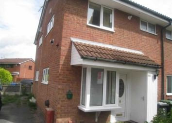 Thumbnail 1 bed town house to rent in Mansfield Close, Birchwood, Warrington