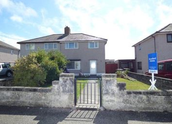 Thumbnail 3 bed semi-detached house for sale in London Road, Holyhead, Anglesey