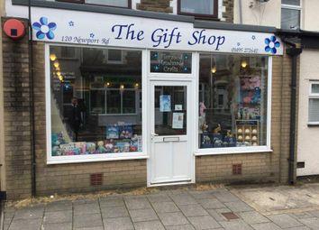 Thumbnail Retail premises for sale in Newport Road, Cwmcarn, Cross Keys, Newport
