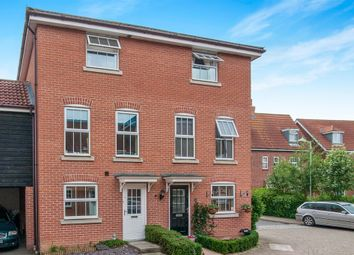 Thumbnail 4 bed town house for sale in Wagtail Drive, Bury St. Edmunds