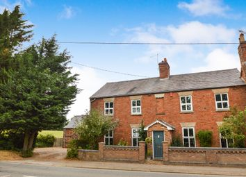 Thumbnail 4 bed link-detached house for sale in Kilworth Road, Husbands Bosworth, Lutterworth