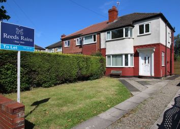 Thumbnail 3 bed semi-detached house to rent in Hillcrest Road, Offerton, Stockport