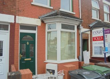 Thumbnail 2 bedroom terraced house to rent in Norman Road, Luton