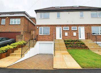 Thumbnail 4 bedroom semi-detached house for sale in Kimble Crescent, Bushey
