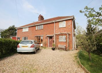 Thumbnail 4 bed semi-detached house for sale in The Crescent, Hethersett, Norwich