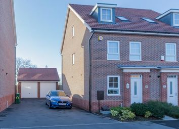 Thumbnail 4 bed semi-detached house for sale in Sanderling Way, Forest Town, Mansfield