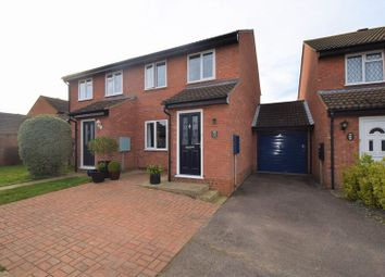 Thumbnail 3 bed semi-detached house for sale in Thames Close, Flitwick, Bedford