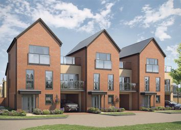 Thumbnail 3 bedroom terraced house for sale in Atlas Way, Oakgrove, Milton Keynes