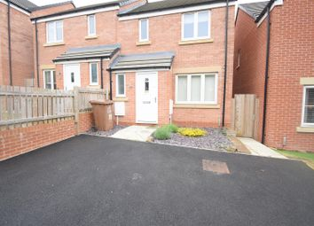 Thumbnail 3 bed semi-detached house to rent in Fortress Close, Weldon, Corby