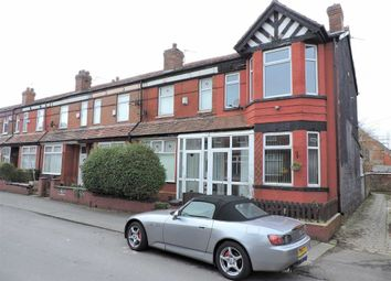 Thumbnail 3 bed end terrace house for sale in Fairbourne Road, Levenshulme, Manchester