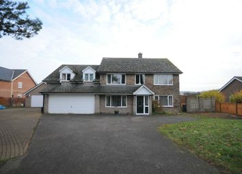 Thumbnail 5 bedroom detached house for sale in Upper Street, Stanstead, Sudbury, Suffolk