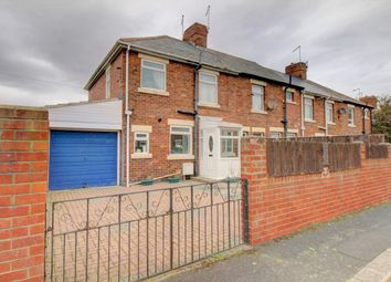 Thumbnail 3 bed end terrace house for sale in Matlock Square, Lynemouth, Morpeth