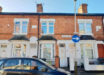 Thumbnail 2 bed terraced house for sale in Canon Street, Belgrave, Leicester