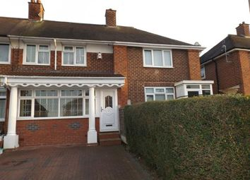 Thumbnail 3 bedroom terraced house for sale in Wyndhurst Road, Stechford, Birmingham, West Midlands