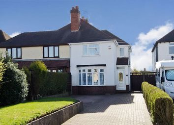 Thumbnail 3 bed semi-detached house for sale in Walsall Road, Great Wyrley, Walsall
