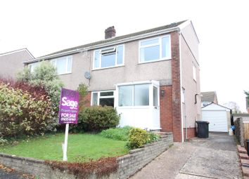 Thumbnail 4 bed semi-detached house for sale in Foxwood Close, Bassaleg, Newport