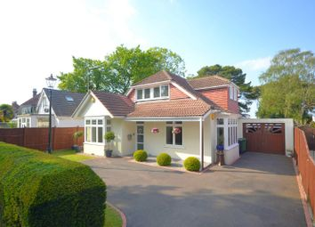 Thumbnail 4 bed detached bungalow for sale in Boulnois Avenue, Lower Parkstone, Poole, Dorset