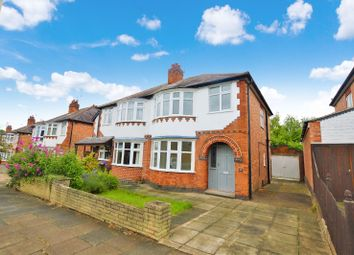 Thumbnail 3 bed semi-detached house to rent in Overdale Road, Knighton, Leicester