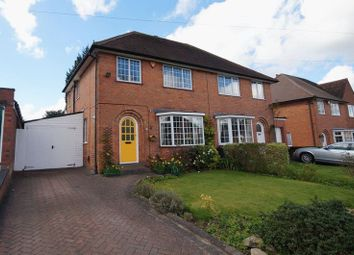 Thumbnail 3 bed semi-detached house for sale in Iris Close, Selly Oak, Birmingham