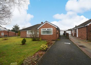 Thumbnail 2 bed semi-detached bungalow for sale in Oakdale Drive, Heald Green, Cheadle