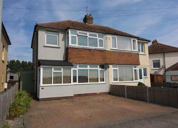 Thumbnail 3 bedroom semi-detached house for sale in Poulders Gardens, Sandwich