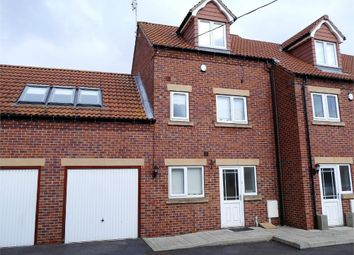 Thumbnail 2 bed end terrace house for sale in Canalside Mews, Worksop, Nottinghamshire