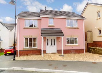 Thumbnail 3 bed detached house for sale in Clos Yr Eryr, Coity, Bridgend .