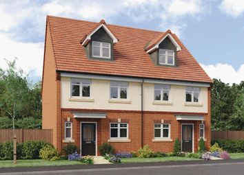 "Thumbnail 4 bed semi-detached house for sale in ""Auden"" at Ruby Lane, Mosborough, Sheffield"