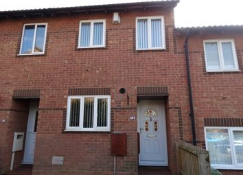 Thumbnail 2 bedroom terraced house to rent in Hexham Gardens, Bletchley