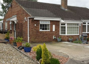 Thumbnail 2 bed semi-detached bungalow for sale in Coppice Hill, Esh Winning, Durham