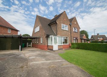 Thumbnail 3 bedroom semi-detached house for sale in Hereford Road, Bakersfield, Nottingham